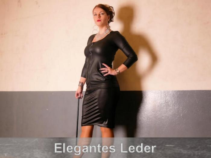 Elegantes Leder