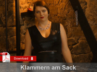 Klammern am Sack