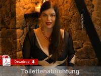 Toilettenabrichtung für Anfänger
