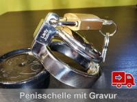 Keuschheitsschelle (Länge: 3cm) KG006