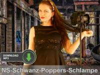 TV-Schlampe mit Poppers zur NS-Schwanz-Schluckerin gemacht