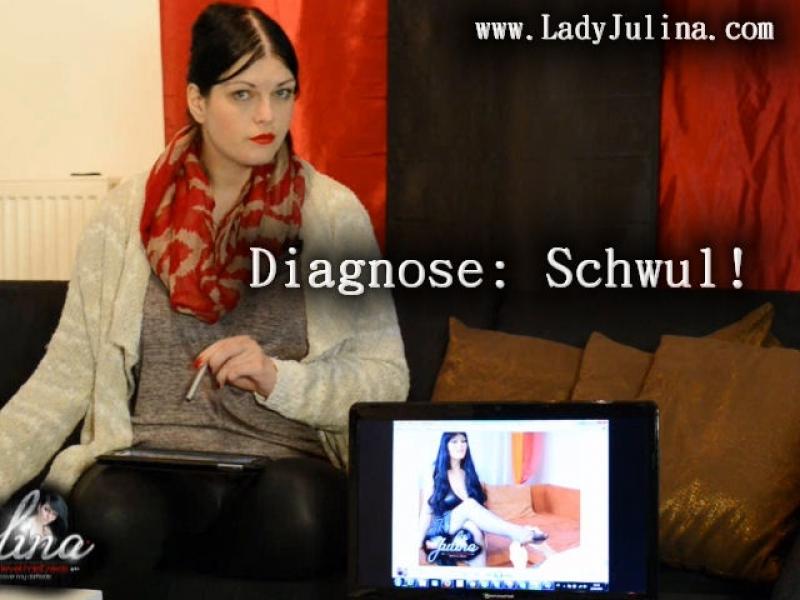 Therapie! Diagnose: Schwul.