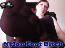 Nylon Foot Bitch