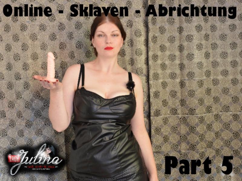 LadyJulina: Selfbondage_Sklaven_Erziehung - Video