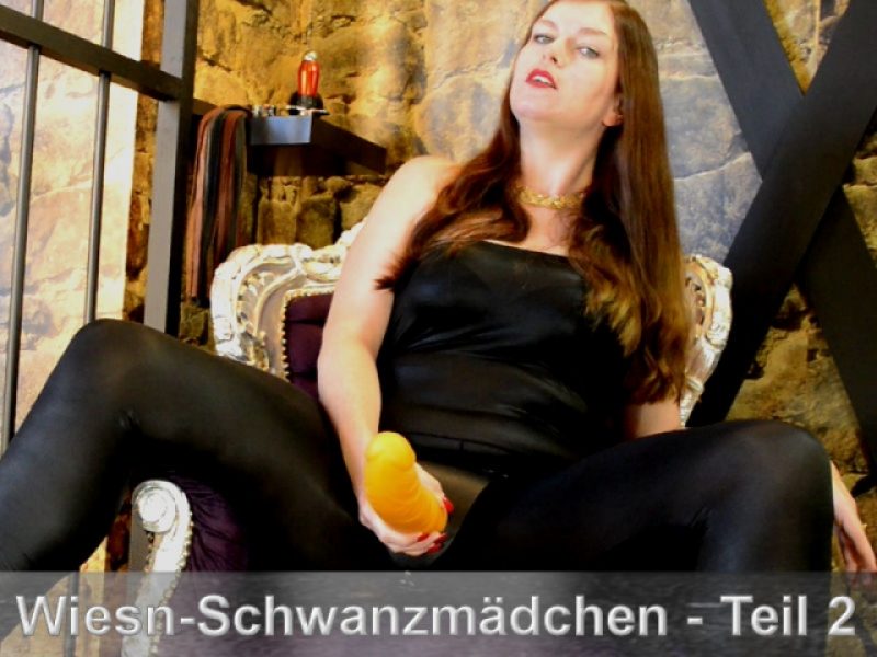 Ausbildung zum Wiesn-Schwanzmädchen - Part 2