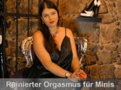 Ruinierter Orgasmus für Minischwänzchen