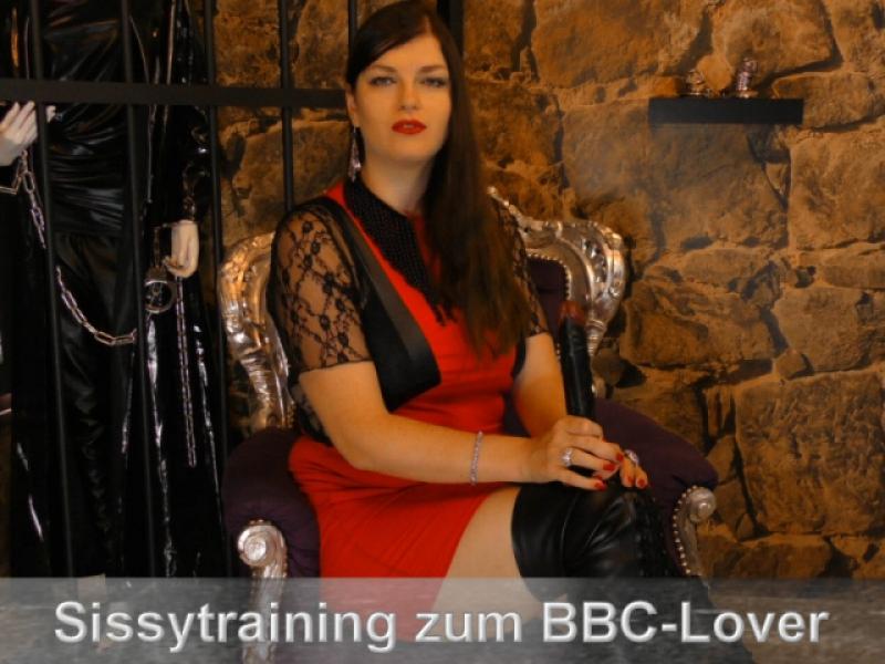 Sissy zur BBC-Hure ausgebildet
