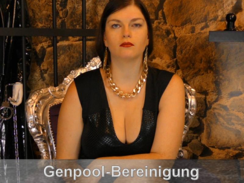 Bereini[zensiert]g des Gen-Pool