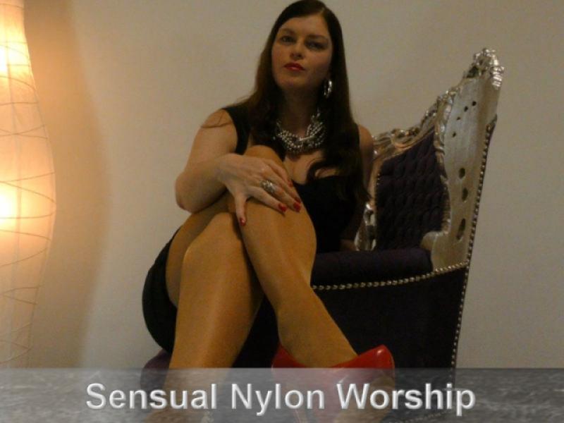 Sensual Nylon Worship