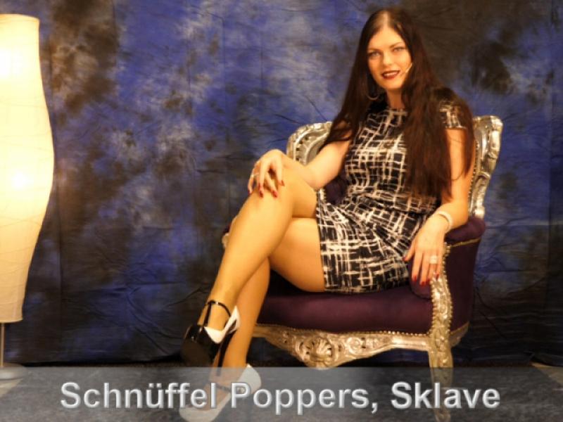 Schnüffel Poppers, Sklave