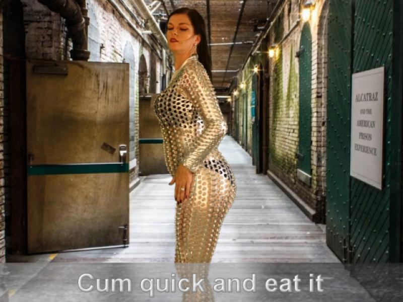 Cum Quick and eat it