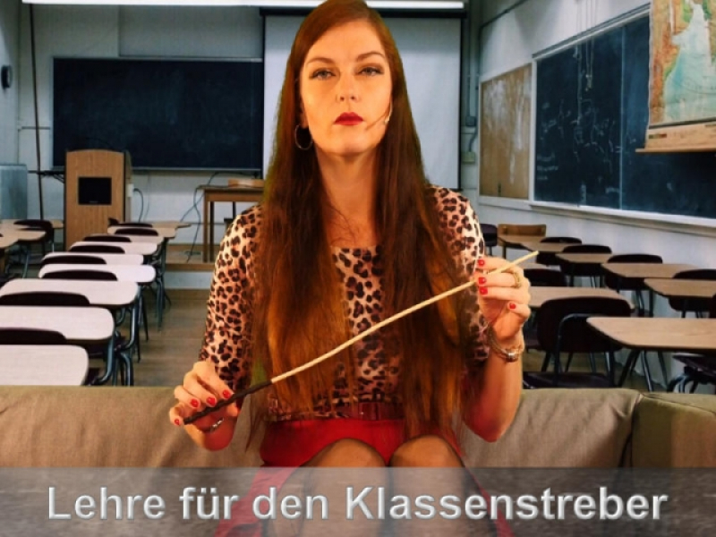 Lehrerin demütigt den Nerd